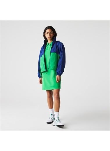 Lacoste Lacoste Kadın Kapüşonlu Renk Bloklu Renkli Rüzgarlık Renkli